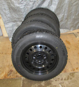 Uniroyal Tiger Paw winter tires and rims 225/65/R17