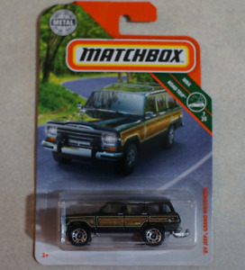 Matchbox 89 Jeep Grand Wagoneer 1/64 scale diecast car
