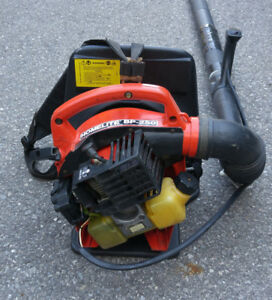 serviced, lightweight Homelite BP-250 backpack leaf blower