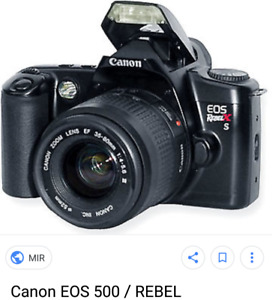 Canon EOS-500 Rebel XS camera