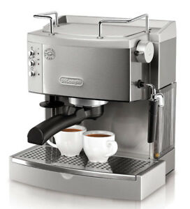 DeLonghi Bar Espresso and Cappuccino Machine, Stainless Steel