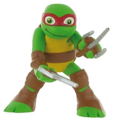 Schildkröten Mutant Ninja Turtles (die Schildkröten Ninja Figürchen Raphael 7 cm Teenage Mutant Ninja Turtles 99614)