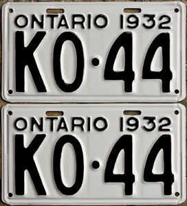 YOM Licence Plates For Your Old Auto - Ministry Guaranteed! Peterborough Peterborough Area image 3