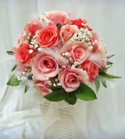 Bridal bouquet, flower girl basket, corsages and boutonnieres