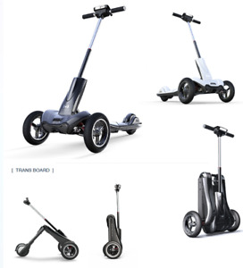 Mercane Transboard Foldable Electric 3-Wheel Scooter