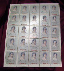 Queen Elizabeth II Royal Visit 1973 8 Cent Stamp Full Mint Sheet Kitchener / Waterloo Kitchener Area image 3