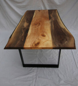 **SALE - 25% OFF** - NEW Live-edge Dining Table