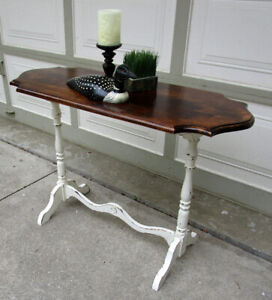 ANTIQUE SHABBY CHIC TABLE - 1 OF A KIND -
