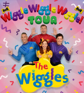 Wiggles tickets - 3 available