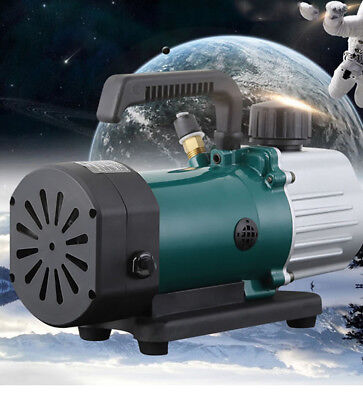 Rotary Vane Vacuum Pump Single Stage 3.6cfm 15hp Air Conditioning Pump 220v