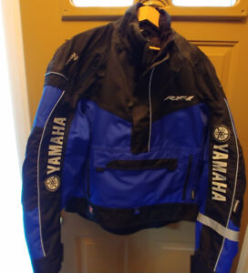 Yamaha Motorcycle Jacket by Reima - Mens Small