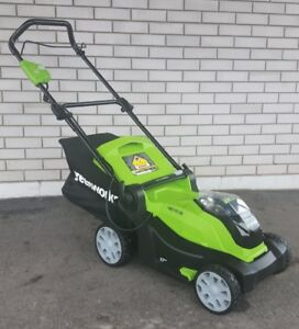 Green Works 40 Volt Cordless Lawn Mower