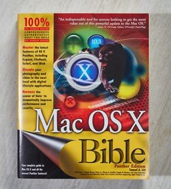 MAC OS X BIBLE 10.3 PANTHER EDITION