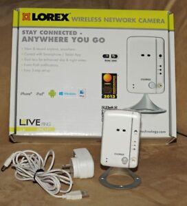 Lorex Wireless IP Camera with Night Vision and 2-Way Audio