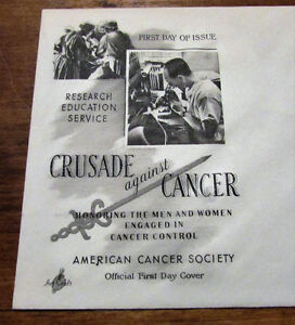 1965 'Crusade Against Cancer' 5 Cent First Day Cover Kitchener / Waterloo Kitchener Area image 3
