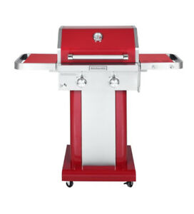 KitchenAid (720-0891C) 2-Burner Outdoor Gas Grill (red) NEW $249