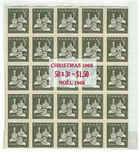 CANADA - #443a - 3c CHRISTMAS WISE MEN MINIATURE PANES IN CELLO