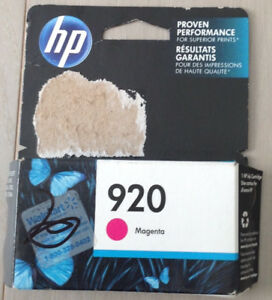 HP 920 Magenta Original Ink Cartridge (CH635AN)