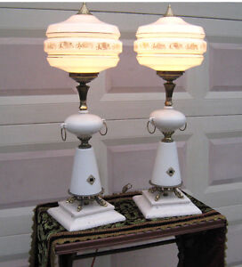 Large Display Lamp PAIR (Vintage Retro)