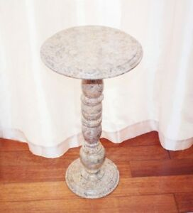 TABLE TOUT  EN MARBRE ANTIQUE