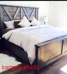 Handcrafted beds on sale