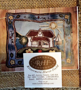 """Rug Hooking Pattern-CLAIRE""S GIFT by Kupesic/Trottier"""