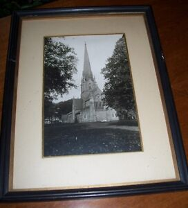 Very Early Christ Church  Fredericton NB Photo