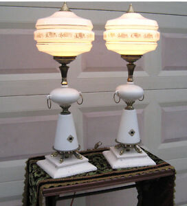 Retro Lamp pair (Vintage)