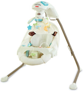 Fisher-Price My Little Lamb Cradle & Swing
