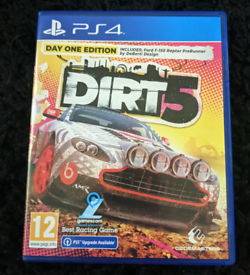 Dirt 5 Day One Edition PS4 PS5 Free Upgrade - Mint Condition