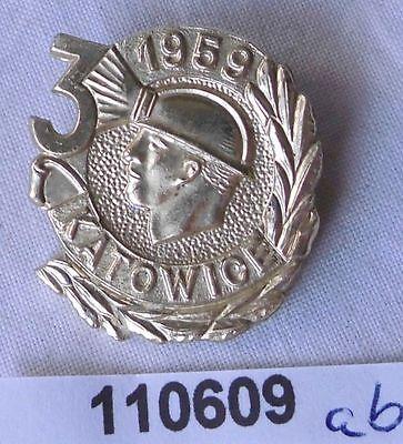 altes Abzeichen Bergbauregion Katowice 1959 (110609)