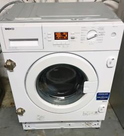 Integrated washing machine 3 months warranty