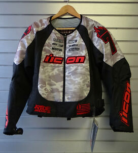 Icon Merc Slayer Motorcycle Jacket NEW