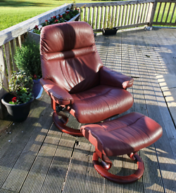 Stressless Chair & Footstool