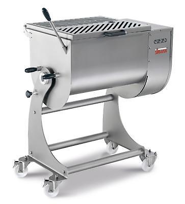 Sirman IP 80 BA XP 176 lb Capacity Floor Model Electric Meat Mixer - 2.75HP