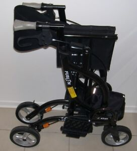 AIRGO FUSION 2 IN 1 TALL EXTRA WIDE ROLLATOR & TRANSPORT CHAIR