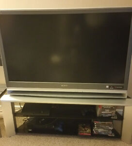 Sony LCD tv with stand