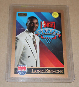 Skybox Lionel Simmons 1990-91 basketball card