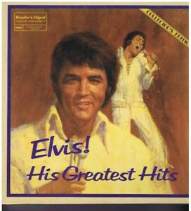 Reader's Digest Elvis Presley His Greatest Hits 7 Lp Box Set