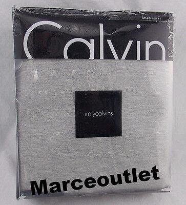 Calvin Klein Sheets - Calvin Klein Home Jersey Body QUEEN Fitted Sheet Gray