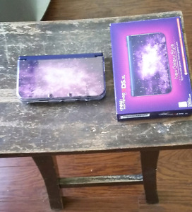 New 3ds xl Galaxy Style, with original box, chargers, games