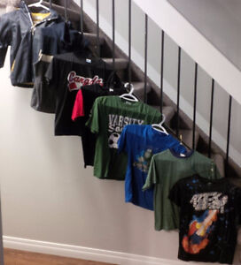 Size 7/8 to S/M boys clothing for sale
