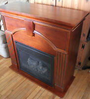 Just in time for Winter! An Electric Fireplace!