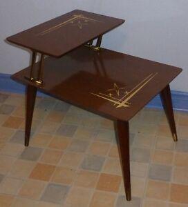 Petite table vintage retro art deco antique