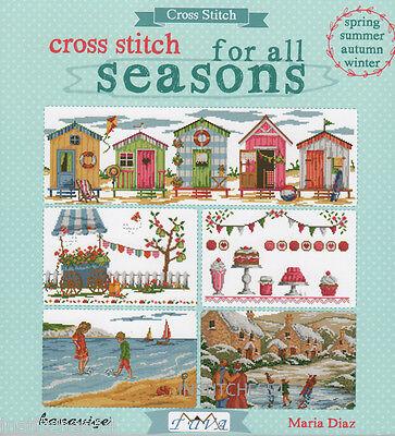 DMC Cross Stitch Chart Book For All Seasons