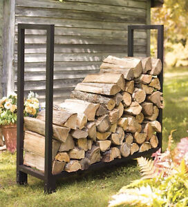 Firewood shelves