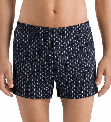 *BNWT* HANRO Elias Men's Single Jersey Cotton Blend Boxers Button Fly 4039