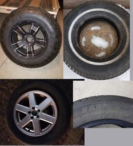 Single tires (only 1 of each listed below)