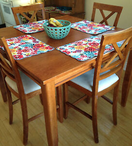 Solid Wood Table & 4 Chairs - Dining Set $425.00 OBO!