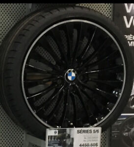 "BMW BLACK 20""Mags & tires for Series 5 & 6 ""BRAND NEW"" $2650."